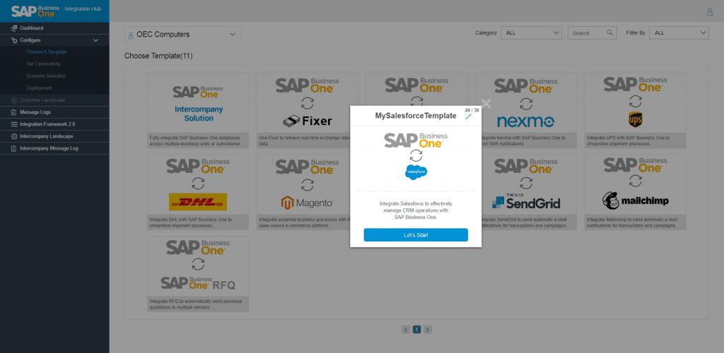 Defining Salesforce Template