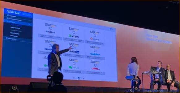 SAP presenting the Integration Hub, Nice, France